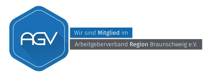 Wir sind Mitglied im AGV Braunschweig